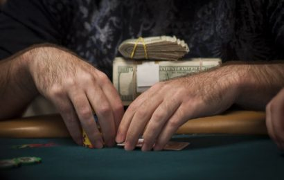Cash game poker player bankroll management