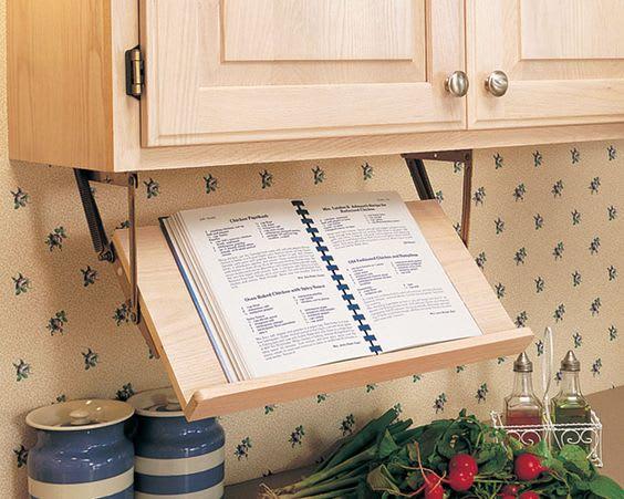 Best Ways To Store Cookbooks